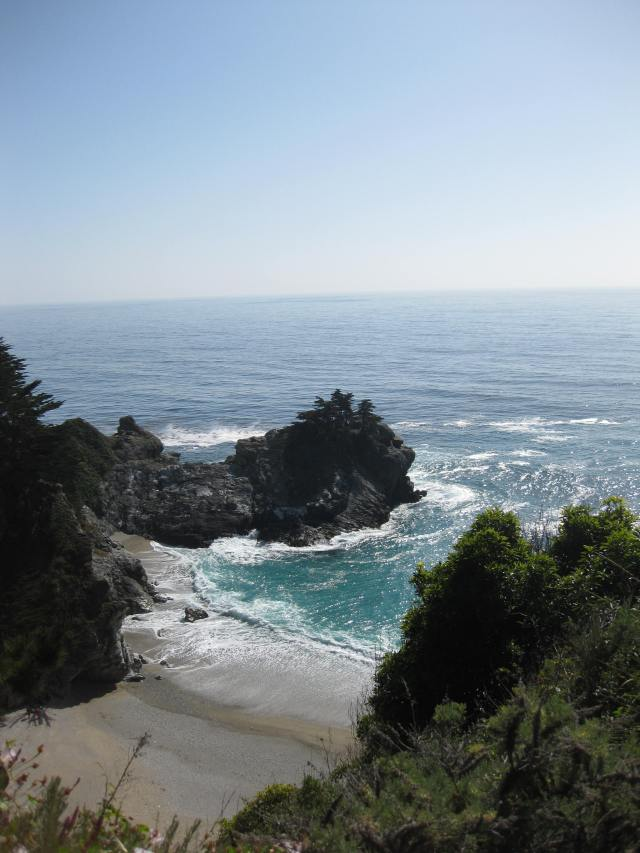 Beach at McWay Falls, Big Sur CA, May 1, 2013