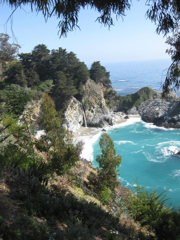 2nd view of McWay Falls May 1, 2013