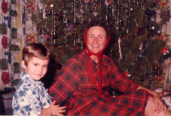 1962 Diane and Ruth Christmas