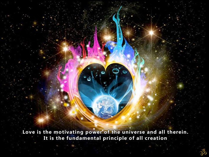 Love Is Motivating Power of The Universe