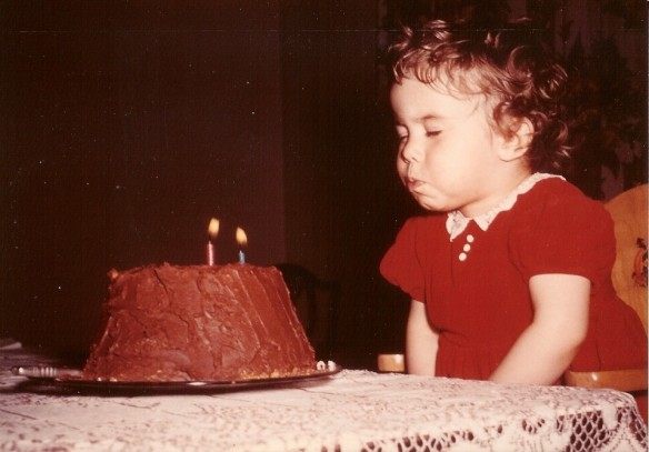 Me on my 2nd birthday