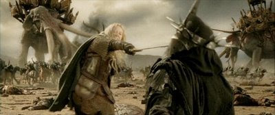 "Eowyn from ""Return of the King"""