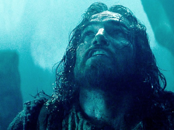 "Jesus at Gethsemane from ""The Passion of The Christ"" 2004"