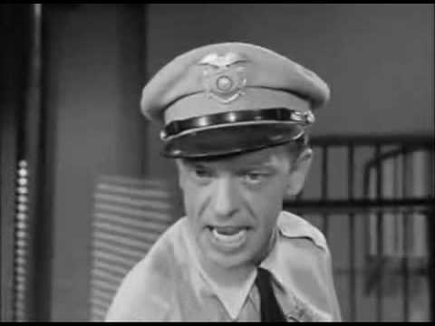 Barney Fife Nip It In The Bud
